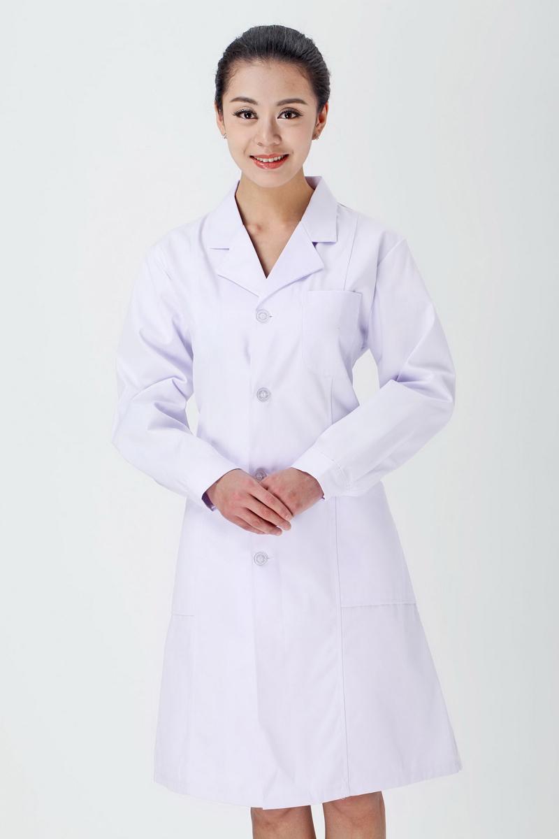 女医生服冬装白色款