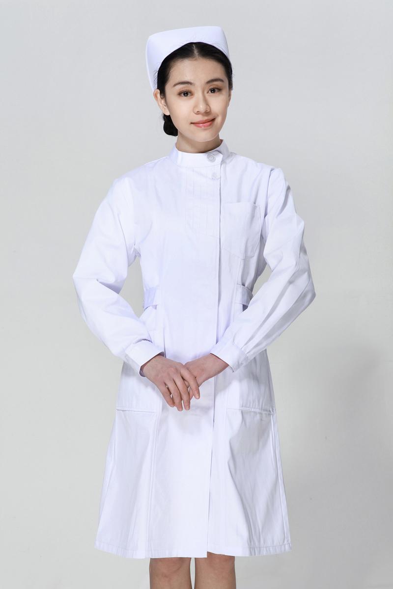 白色u赢电竞冬款左偏襟立领